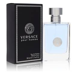 Versace Pour Homme Cologne by Versace, 1.7 oz Eau De Toilette Spray for Men