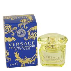 Versace Yellow Diamond Intense Mini by Versace, 5 ml Mini EDP for Women from FragranceX.com