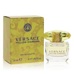 Versace Yellow Diamond Mini by Versace, 5 ml Mini EDT for Women from FragranceX.com