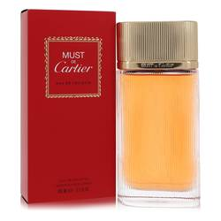 Must De Cartier Perfume by Cartier, 3.4 oz Eau De Toilette Spray for Women