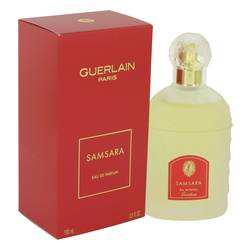 Samsara Perfume by Guerlain, 100 ml Eau De Parfum Spray for Women from FragranceX.com