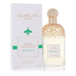 Aqua Allegoria Herba Fresca Perfume by Guerlain, 4.2 oz Eau De Toilette Spray (Unisex) for Women