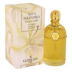 Aqua Allegoria Ylang Vanille Perfume by Guerlain, 4.2 oz Eau De Toilette Spray for Women