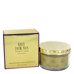 White Diamonds Body Powder by Elizabeth Taylor, 157 ml Body Powder Refillable for Women