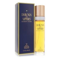 Diamonds & Saphires Perfume by Elizabeth Taylor, 3.4 oz Eau De Toilette Spray for Women