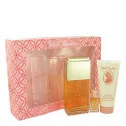 White Shoulders Gift Set by Evyan Gift Set for Women Includes 4.5 oz Cologne Spray + .25 oz Mini + 3.3 oz Body Lotion