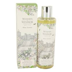 White Jasmine Shower Gel by Woods of Windsor, 248 ml Shower Gel for Women from FragranceX.com