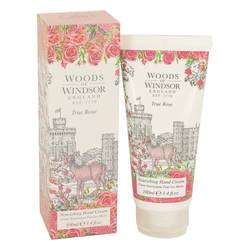True Rose Body Cream by Woods of Windsor, 100 ml Hand Cream for Women from FragranceX.com