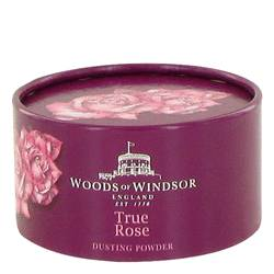 True Rose Body Powder by Woods of Windsor, 104 ml Dusting Powder for Women