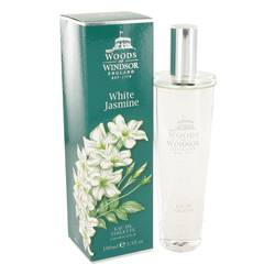 White Jasmine Perfume by Woods of Windsor, 100 ml Eau De Toilette Spray for Women