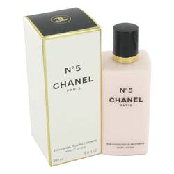 Chanel No. 5 Body Lotion by Chanel, 6.8 oz Body Lotion for Women