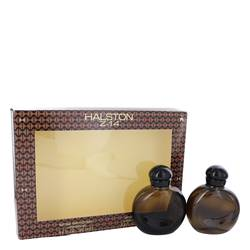 Halston Z-14 Gift Set by Halston Gift Set for Men Includes 4.2 oz Cologne Spray + 4.2 oz After Shave + In Display Box