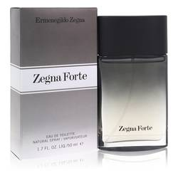 Zegna Forte Cologne by Ermenegildo Zegna, 50 ml Eau De Toilette Spray for Men