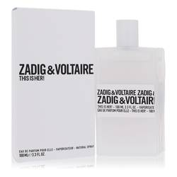 This Is Her Perfume by Zadig & Voltaire, 100 ml Eau De Parfum Spray for Women