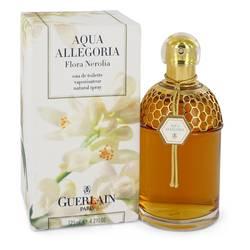 Aqua Allegoria Flora Nerolia Perfume by Guerlain, 4.2 oz Eau De Toilette Spray for Women