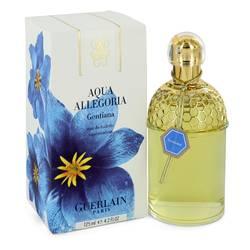 Aqua Allegoria Gentiana Perfume by Guerlain, 4.2 oz Eau De Toilette Spray for Women