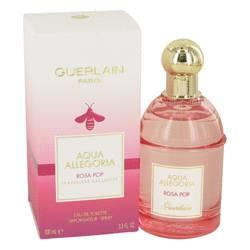 Aqua Allegoria Rosa Pop Perfume by Guerlain, 3.3 oz Eau De Toilette Spray for Women
