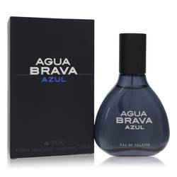 Agua Brava Azul Cologne by Antonio Puig, 100 ml Eau De Toilette Spray for Men