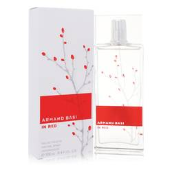 Armand Basi In Red Perfume by Armand Basi, 100 ml Eau De Toilette Spray for Women