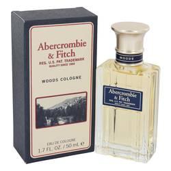 Abercrombie Woods Cologne by Abercrombie & Fitch, 50 ml Eau De Cologne Spray for Men
