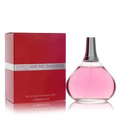 Spirit Perfume by Antonio Banderas, 3.4 oz Eau De Toilette Spray for Women