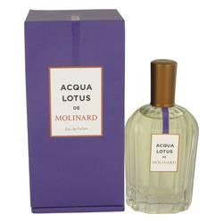 Molinard Acqua Lotus Perfume by Molinard, 90 ml Eau De Parfum Spray (Unisex) for Women