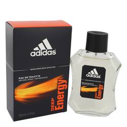Adidas Deep Energy Cologne by Adidas 3.4 oz Eau De Toilette Spray