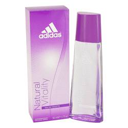 Adidas Natural Vitality Perfume by Adidas, 50 ml Eau De Toilette Spray for Women