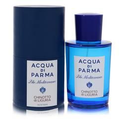 Blu Mediterraneo Chinotto Di Liguria Perfume by Acqua Di Parma, 2.5 oz Eau De Toilette Spray (Unisex) for Women