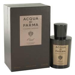 Acqua Di Parma Colonia Intensa Oud Cologne by Acqua Di Parma, 3.4 oz Eau De Cologne Concentree Spray for Men