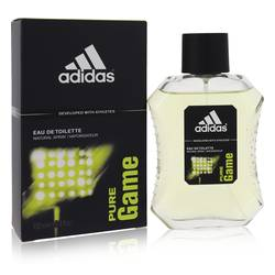 Adidas Pure Game Cologne by Adidas, 100 ml Eau De Toilette Spray for Men