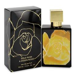 A Dozen Roses Gold Rush Perfume by A Dozen Roses, 100 ml Eau De Parfum Spray for Women