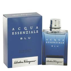 Acqua Essenziale Blu Cologne by Salvatore Ferragamo, 1.7 oz Eau De Toilette Spray for Men