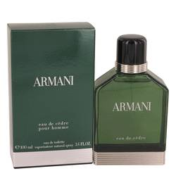 Armani Eau De Cedre Cologne by Giorgio Armani, 3.4 oz Eau De Toilette Spray for Men