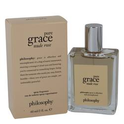 Amazing Grace Nude Rose Perfume by Philosophy, 2 oz Eau De Toilette Spray for Women