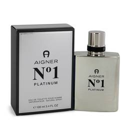 Aigner No. 1 Platinum Cologne by Etienne Aigner, 3.4 oz Eau De Toilette Spray for Men