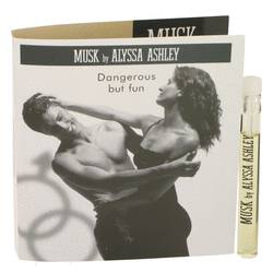 Alyssa Ashley Musk Perfume by Houbigant 0.06 oz Vial (sample)