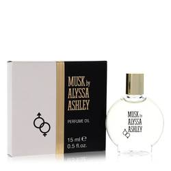 Alyssa Ashley Musk Bath Oil by Houbigant, 15 ml Perfumed Oil for Women