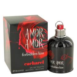 Amor Amor Forbidden Kiss Perfume by Cacharel, 3.4 oz EDT Spray for Women