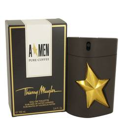 Angel Pure Coffee Cologne by Thierry Mugler, 3.4 oz Eau De Toilette Spray for Men