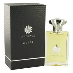 Amouage Silver Cologne by Amouage, 100 ml Eau De Parfum Spray for Men from FragranceX.com