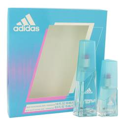 Adidas Moves Perfume by Adidas -- Gift Set - 1 oz Eau De Toilette Spray + .5 oz Eau De Toilette Spray