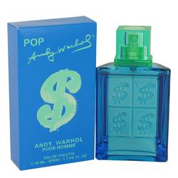 Andy Warhol Pop Cologne by Andy Warhol, 1.7 oz Eau De Toilette Spray for Men
