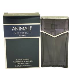 Animale Instinct Cologne by Animale, 3.4 oz Eau De Toilette Spray for Men