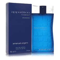 Apparition Cobalt Cologne by Ungaro 3 oz Eau De Toilette Spray