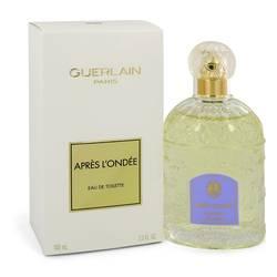 Apres L'ondee Perfume by Guerlain, 3.4 oz Eau De Toilette Spray for Women
