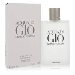Acqua Di Gio Cologne by Giorgio Armani 6.7 oz Eau De Toilette Spray