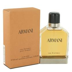 Armani Eau D'aromes Cologne by Giorgio Armani, 100 ml Eau De Toilette Spray for Men from FragranceX.com