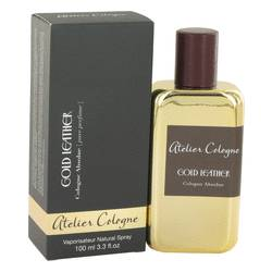 Gold Leather Cologne by Atelier Cologne, 3.3 oz Pure Perfume Spray for Men