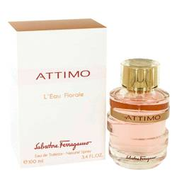 Attimo L'eau Florale Perfume by Salvatore Ferragamo, 3.4 oz Eau De Toilette Spray for Women